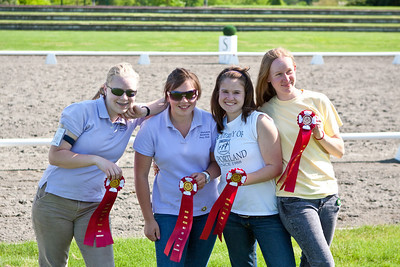 CMPC purple team.  2nd in horse management after a close tie-breaker for 1st.