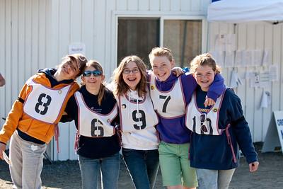 Cassie, Madie, Natalie, Rachel and Jordan.  The CMPC Silver Team.