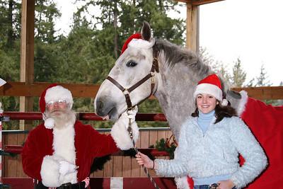 Santa, Harvey and Kara