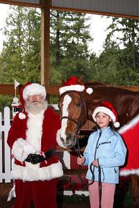 Santa, Rockwell and Amber