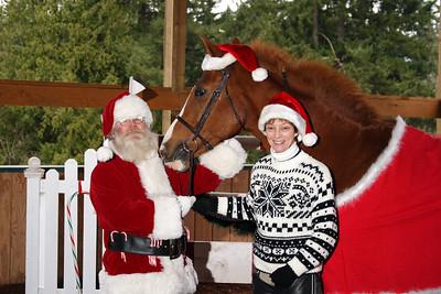 Santa, Guy and Vicky