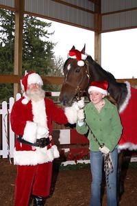 Santa, Caddy and Olivia