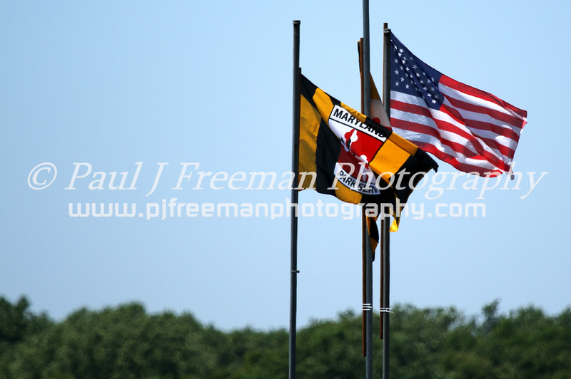 126_#FairHillSteeplechase_American_Maryland_flags
