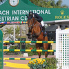 WEST PALM BEACH, FLORIDA - March 30, 2018: Enrique Gonzalez and Zapzerap competing at week 12 of the Winter Equestrian Festival in Wellington, Florida