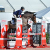 WEST PALM BEACH, FLORIDA - January 13, 2018: Unidentified rider competing at week 1 of the Winter Equestrian Festival in Wellington, Florida