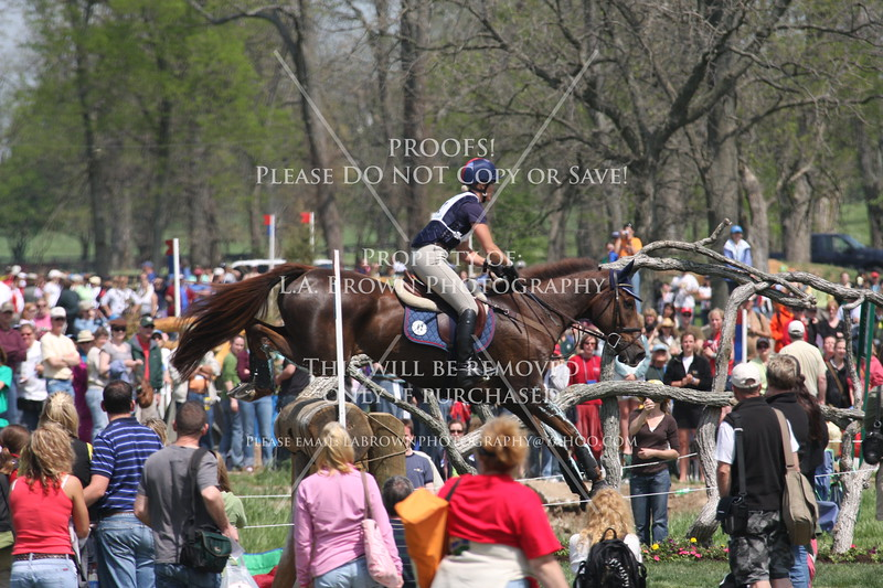 Rolex 2008, Allison Springer riding Arthur
