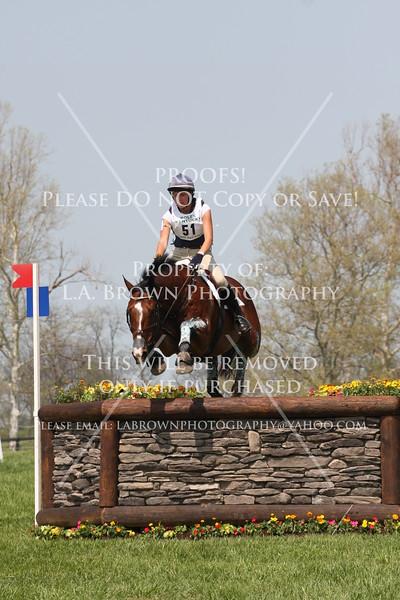 Rolex 2008, Emilee Libby (YR) riding Cahir
