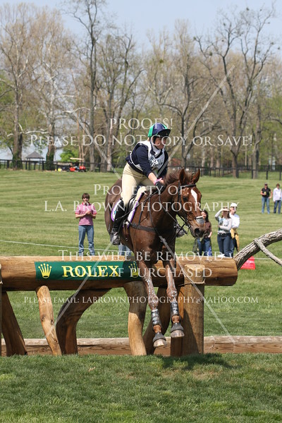 Rolex 2008, Polly Stockton riding Charles Owen Tangleman