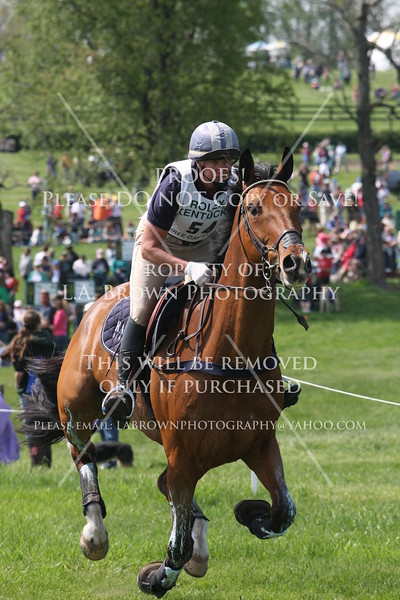 Rolex 2008, Karen O'Connor riding Hugh Knows