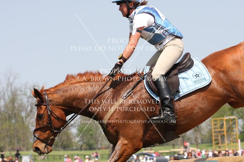 Rolex 2008, Corinne Ashton riding Dobbin