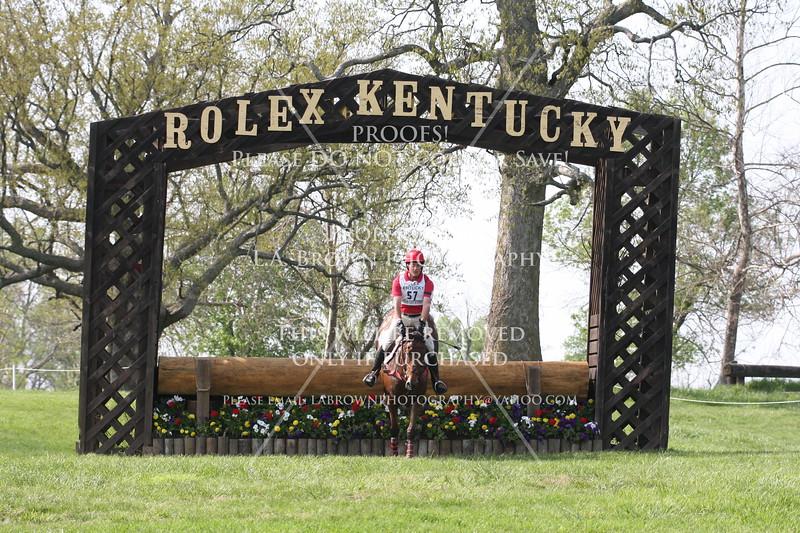 Rolex 2008, Stephen S. Bradley riding From