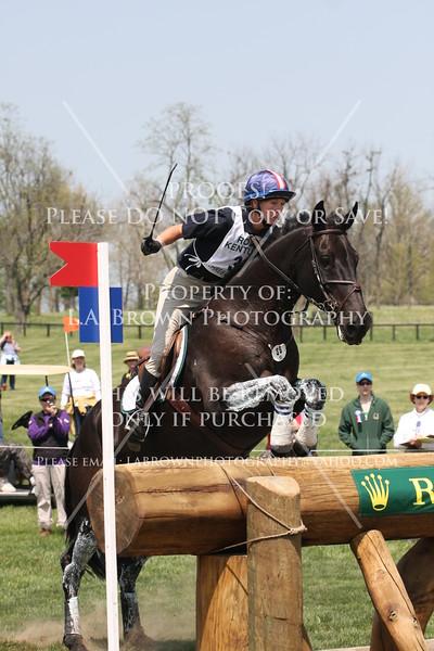 Rolex 2008, Sarah Hansel riding The Quiet Man