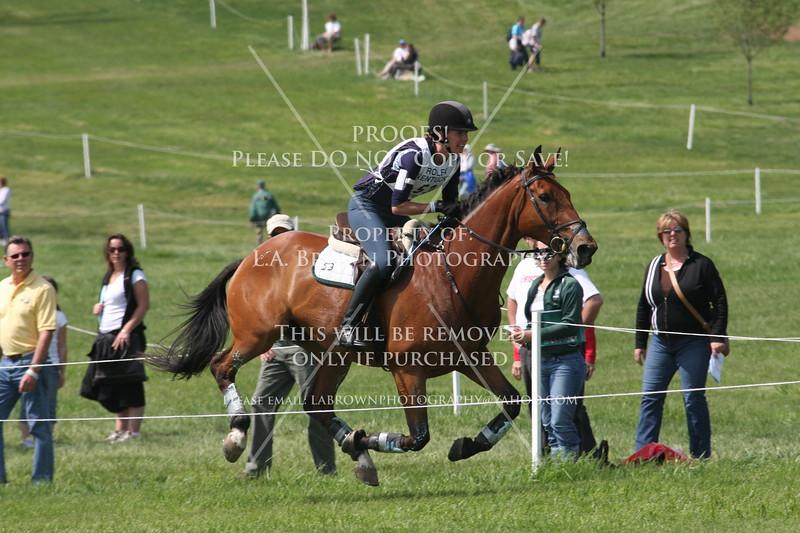 Rolex 2008, Selena O'Hanlon riding Colombo