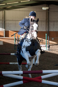 Class 2 Welton and District Winter showjumping.