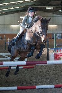 class 5 Welton and District Winter showjumping.