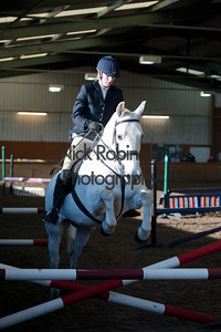 Class 3 Welton and District Winter showjumping.