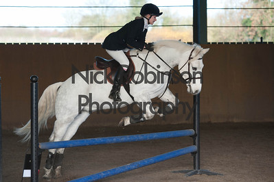 class 4 Welton and District Winter showjumping.