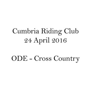 ODE - Cross Country
