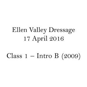 Class 1 – Intro B (2009)