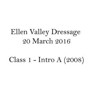 Dressage Class Name C1