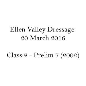 Dressage Class Name C2