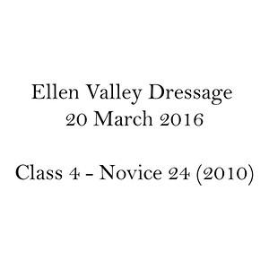 Dressage Class Name C4