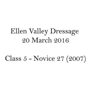 Dressage Class Name C5