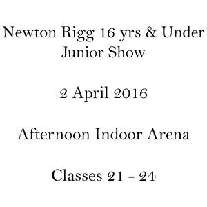 Classes 21 - 24
