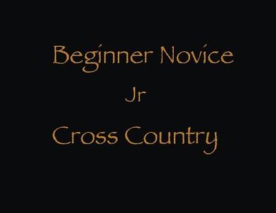 Beginner Novice Jr Cross Country