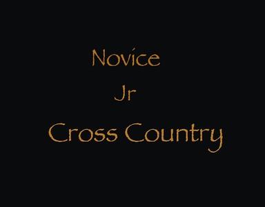 Novice Jr Cross Country