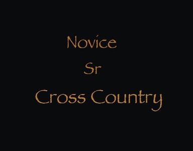 Novice Sr Cross Country