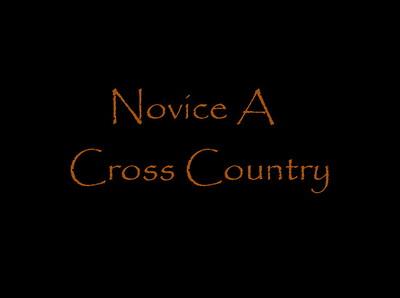 Novice A Cross Country