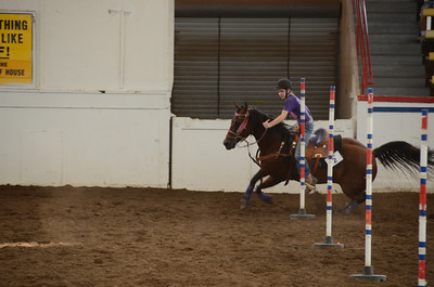 POLE BENDING 12 & UNDER HORSES OVER 56