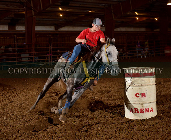 Fall  Show   October 7 2018   Youth 3D Barrels    NBHA