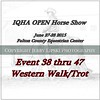 Cover 38 thru 47  Western Walk Trot