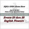 Cover 23 thru 29 Showm English Pleasure