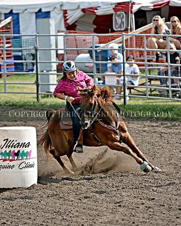 Event 52 thru 55   -  PeeWee - Pony - Youth Barrels