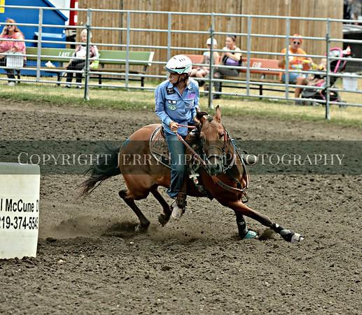 Event 53  Sunday  Pony Barrels   18 Under