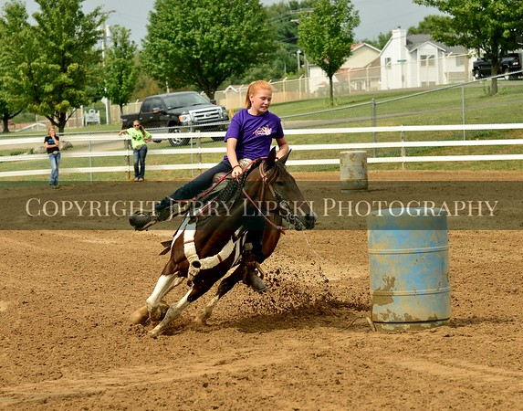 Barrel Racing 4H Fairgrounds