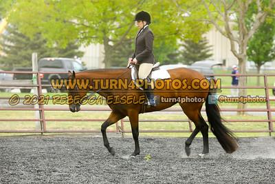 Jr Horse and Sr english pleasure may 23--2