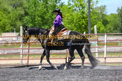Sr western equitation may 23--19
