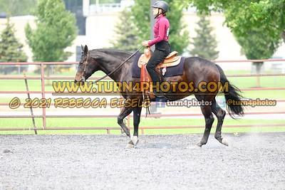 western equitation  july 25--27