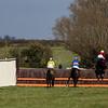 Race 4 - Won by 4 Dabinett Moon - 10yo Bay Mare owned by Christopher & Fran Marriott ridden by Mrs C. Hardwick trained by Fran Marriott