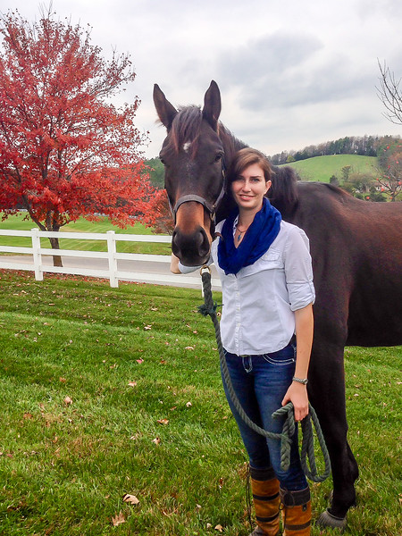 Shannon and Aiden in Fall