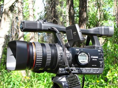 Canon XH-A1s HDV camcorder