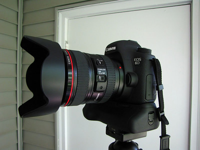 Canon EOS 6D DSLR with a Canon 24-105mm f/4.0L IS USM AF Lens.