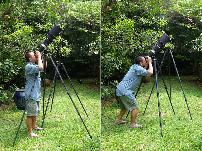 What is the right height of tripod?