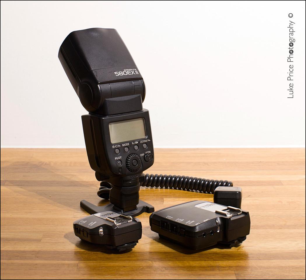 Canon 580 EXii  & TTL Pocket Wizards