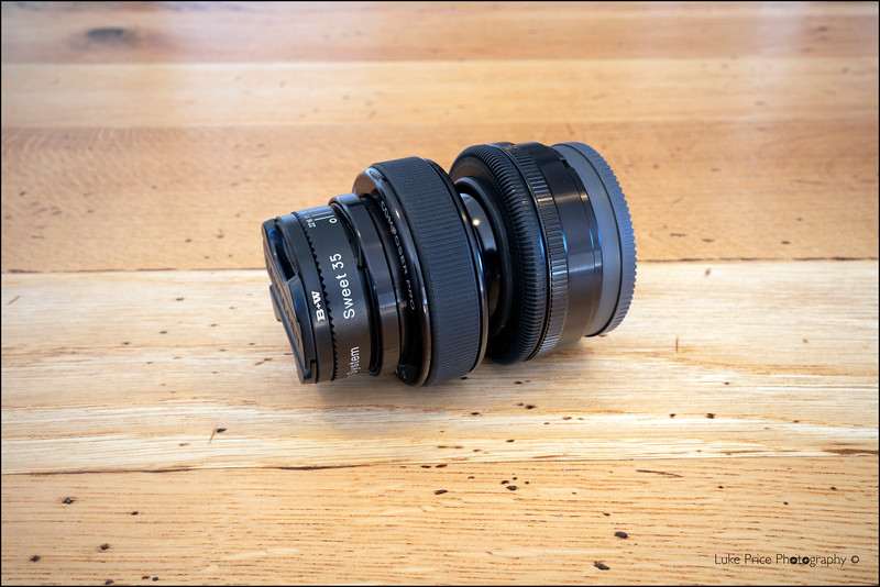 LensBaby Composer Pro with Sweet 35 optic.