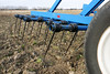 Brandt heavy harrow paused for fall field work, near Neepawa MB